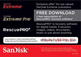 SanDisk RescuePro Deluxe File Recovery 6.0.0.1 Crack + License Key [Latest]