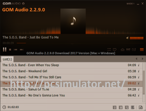 GOM Audio 2.2.9.0 Download 2017 Version [Mac + Windows]