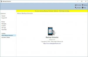 iBackup Extractor With Crack Full Version Free Download
